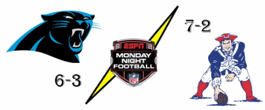 panthers patriots mnf