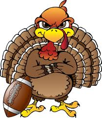 turkey and football cartoon