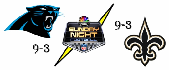 Panthers Saints SNF