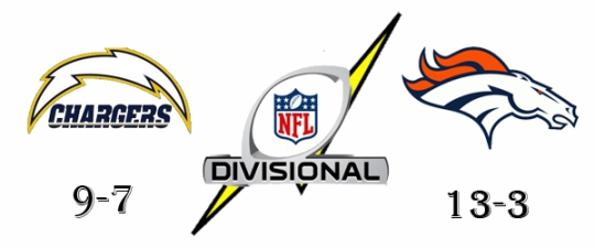 Chargers Broncos Divisional